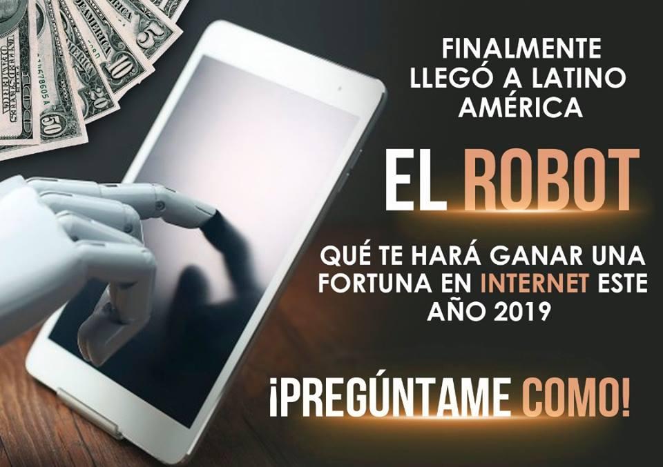 El Robot Que Te Hara Ganar Dinero En Internet