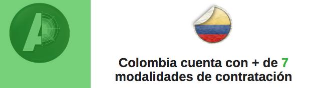 """"""" ... y esto como se contrata ? """": Colombia cuenta con más modalidades que la contratación directa"""