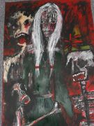 Allegory of a story  Acryl auf Karton 40 x 30 cm Despina Papadopoulou