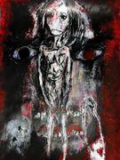 Allegory of a story I   Acryl auf Karton  40 x 30 cm Despina papadopoulou