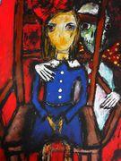 The Chair  Acryl auf Karton 70 x 50 cm