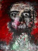 Naked  Acryl auf Tuch  150 x 120 cm  jahr 2010 Despina Papadopoulou