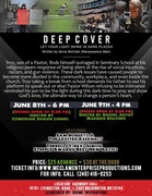 """Deep Cover """"Let your light shine in dark places"""" Stage Play Production"""