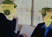 """"""" A la banque """" 2011, M."""