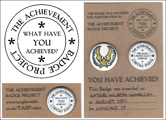 The Achievement Badge Project begins!