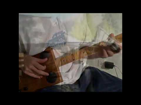 -1870's Bottleneck Slide Blues Guitar -
