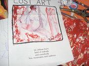 Mail art to i'm a superhero, Lost Art