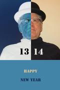 New Year 13-14 card