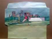 Illustrated Envelopes Made