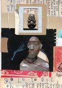 """'slide"""" Handmade post card for Petropetal"""