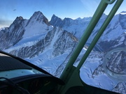 Flying in the Alps with a CH 701