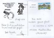 MAil ART CALL FROM URUGUAY