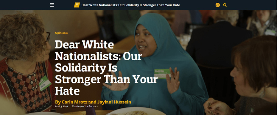 After New Zealand, Muslims Team Up With Jews
