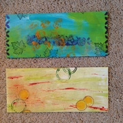 Two Painted Envelopes
