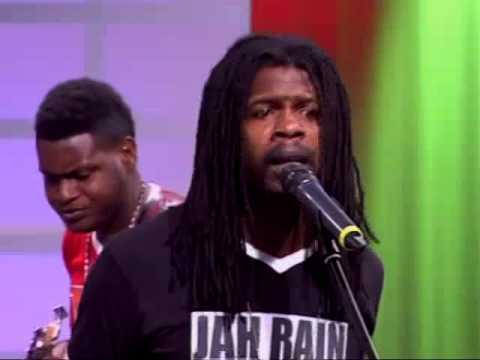 "Jah Rain & The Iyah Vybz Kreation Live On TVJ Performing ""Bob Marley - I wanna Love You"""