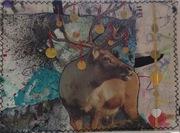 Reindeer Bling by Caroline Rees