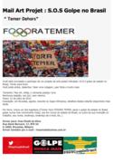 mail art golpe no Brasil
