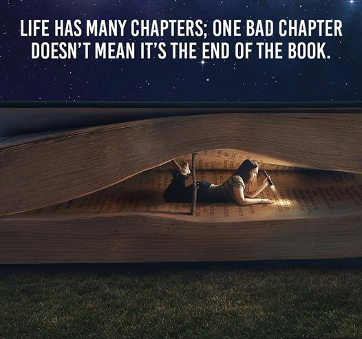 life have many chapters
