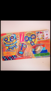 Tribal mail art