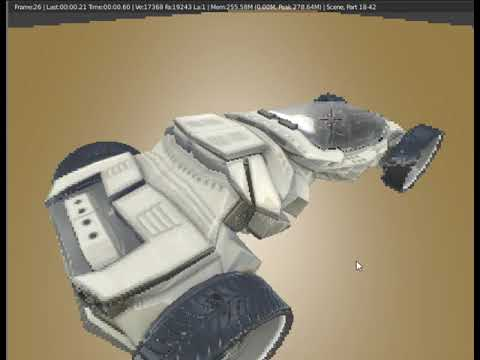 futuristic car model