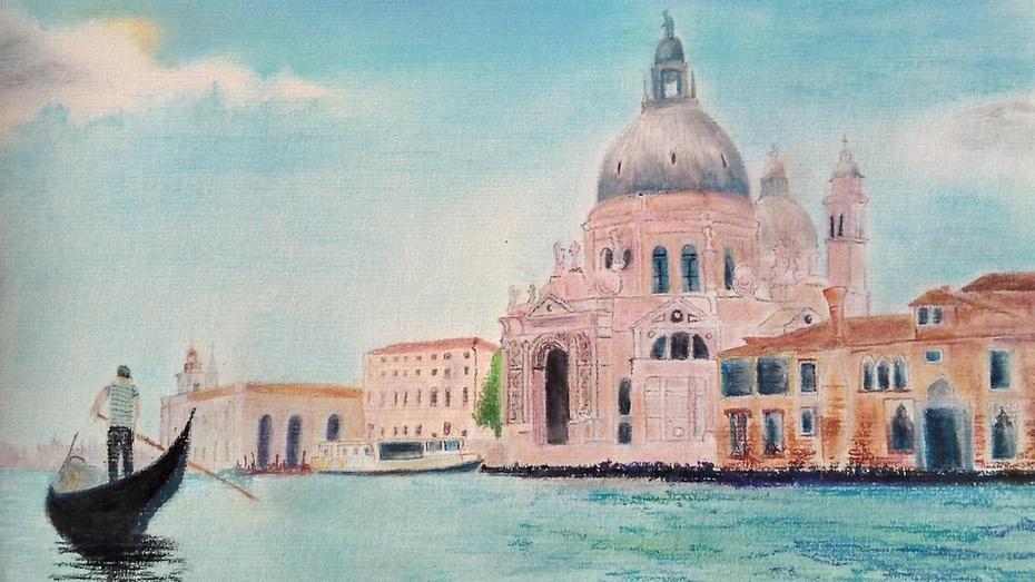 Venice - view of Santa Maria della Salute