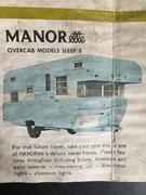 1972 MANORette needs new home, sleeps 8
