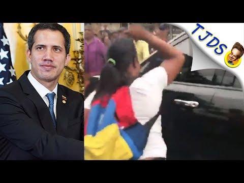 Guaidó ATTACKED By Poor Venezuelans In Barrio
