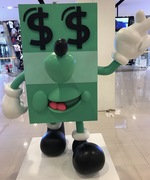 And for Dara: a whole Jeremyville dollar!
