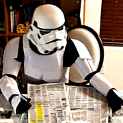 Unemployed Storm trooper TK420