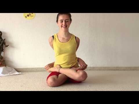 Yoga Bound Lotus Posture - Bandha Padmasana and Yoga Mudrasana