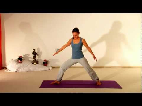 Vira Bhadrasana - Der Held - Stilles Video