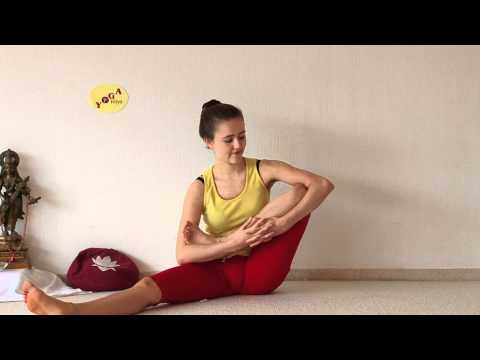 Developing Lotus Flexibility - Preparing Yoga Padmasana Sitting Position