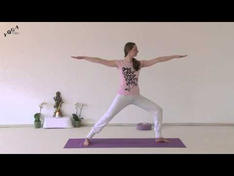 intermediate warrior sequence  meinyogavidyade  yoga