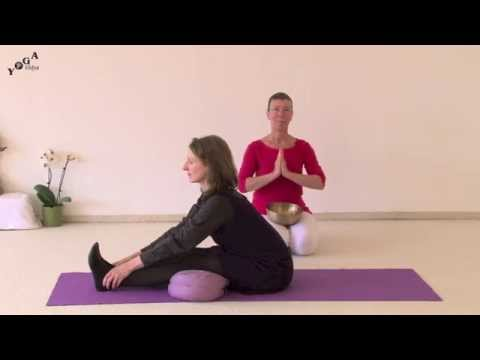 Yoga Therapy Sound Therapy - The Seated Forward Bend