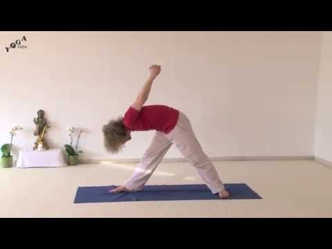 Variations of Yoga Triangle for Flexibility
