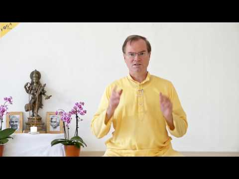 04B Vedanta Meditationskurs - Praxis Video: Vichara Meditation: Wo bin ich?