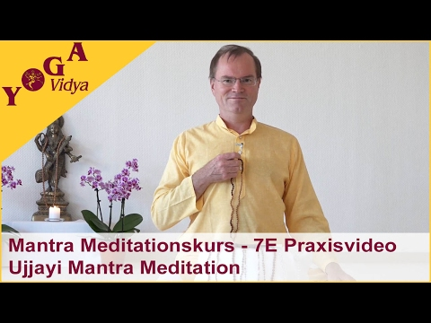 7E Mantra Meditationskurs - Praxisvideo: Ujjayi Mantra Meditation