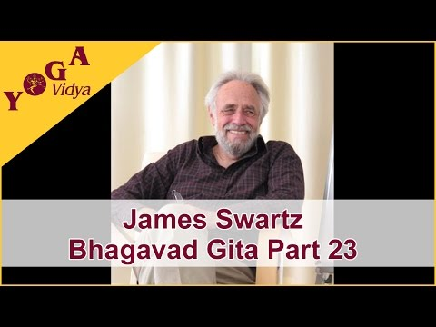 James Swartz Part 23 Lecture about Bhagavad Gita