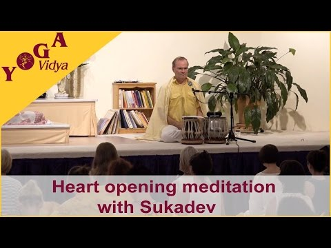 Heart opening meditation with Sukadev
