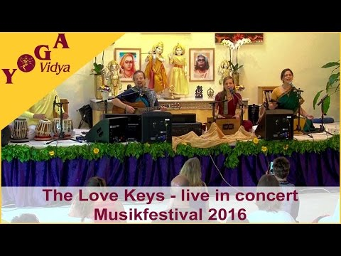 The Love Keys - Live in Concert beim Yoga Vidya Musik Festival 2016