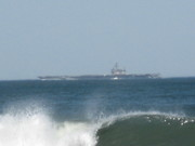 Big E at Sea