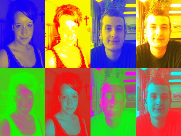 Terry and Sandy Warhol-Style