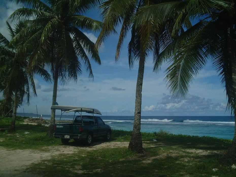 Guam truck stop