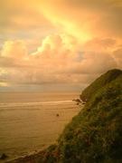 warm sunset colors