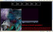 David, Grade 9, 2007-2008, Eportfolio home page.