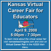 Virtual Career Fair April 9, 2008