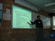 Mark Holland presenting