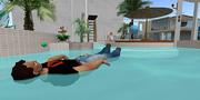 Salty Floating in DEN Pool