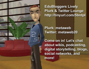 Me in EbuBloggers Twitter & Plurk Lounge