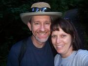 Bruce & LouAnn on a summer hike